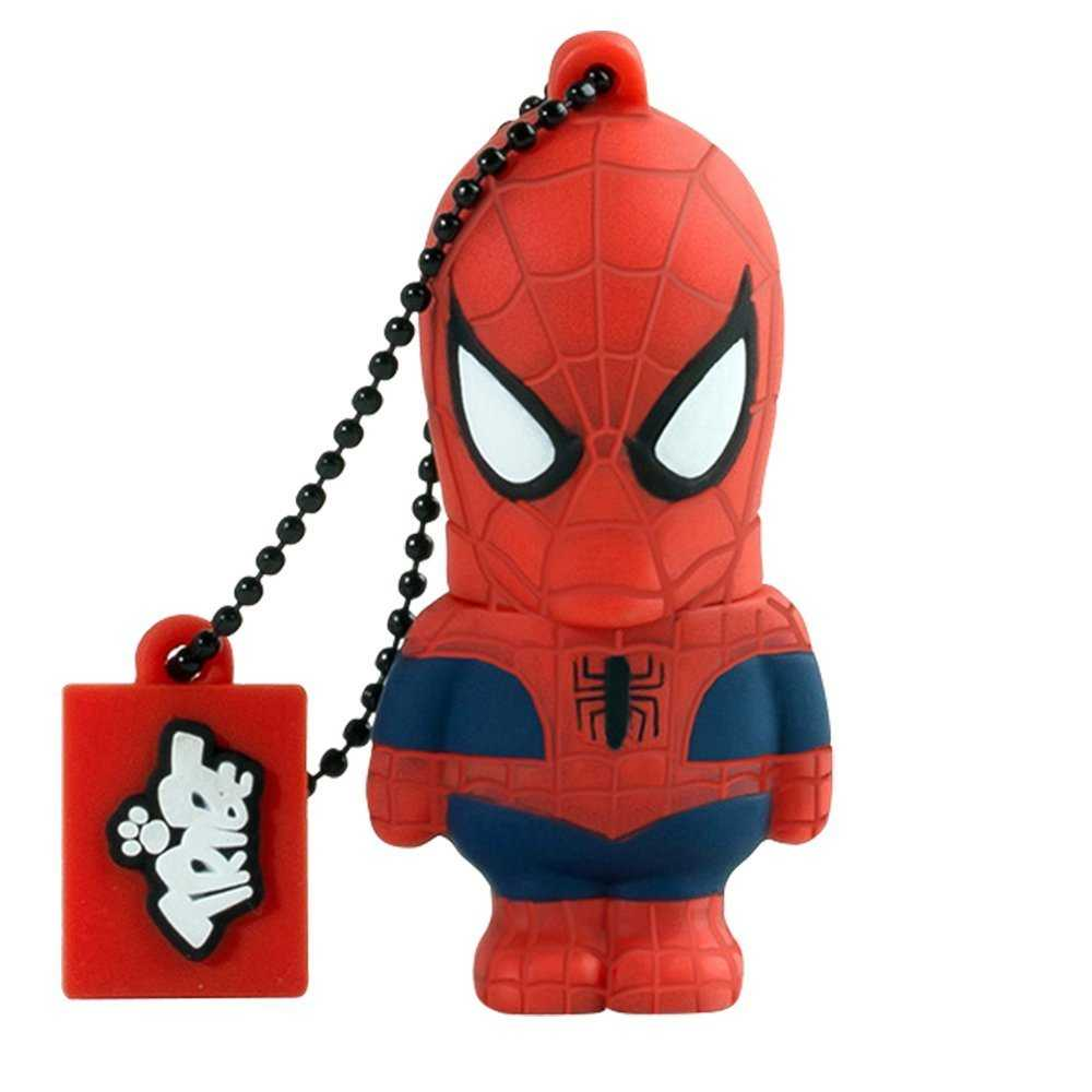 Compare prices for Tribe 16GB Marvel Spiderman USB Flash Drive - 15MBs