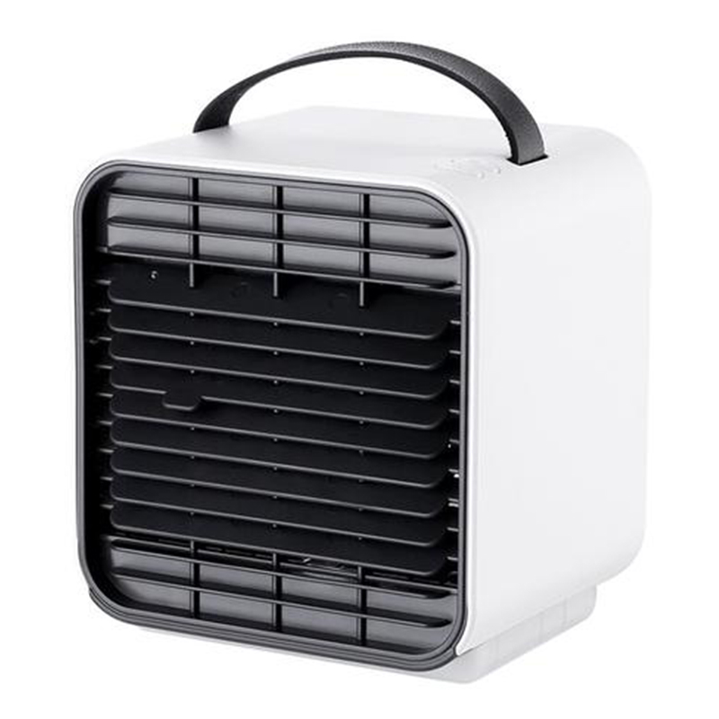 Home & Garden Portable USB Air Conditioning Unit & Night Lamp - White
