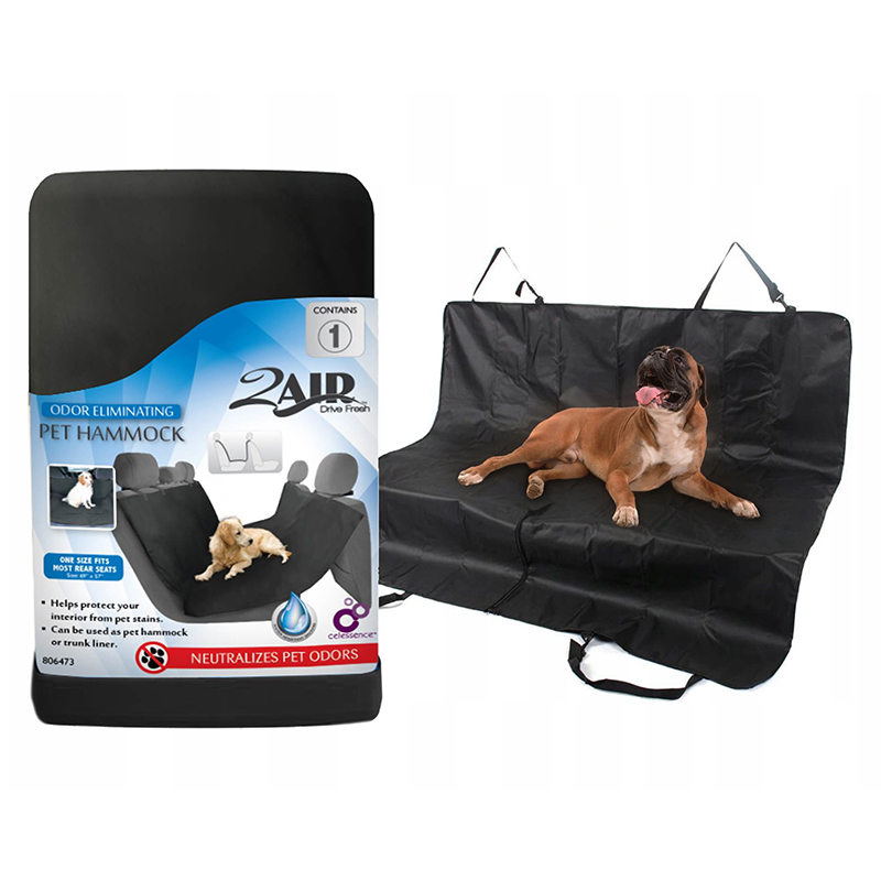 2Air Universal Pet Hammock Rear Seat Protector