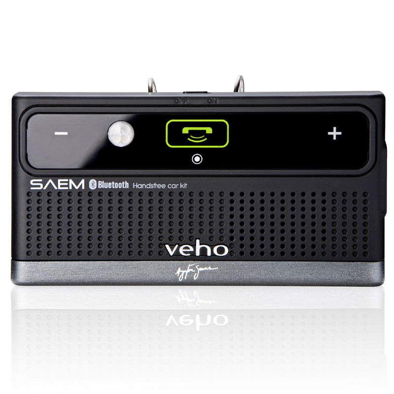 Compare prices for Veho SAEM S3 Ayrton Senna Collection Bluetooth Car Kit VBC-002-AS