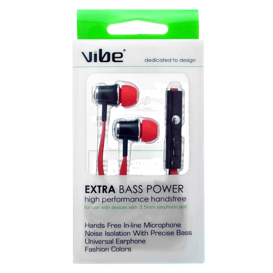 Compare prices for Vibe EXTRA Bass Power High-Performance Handsfree Headphones