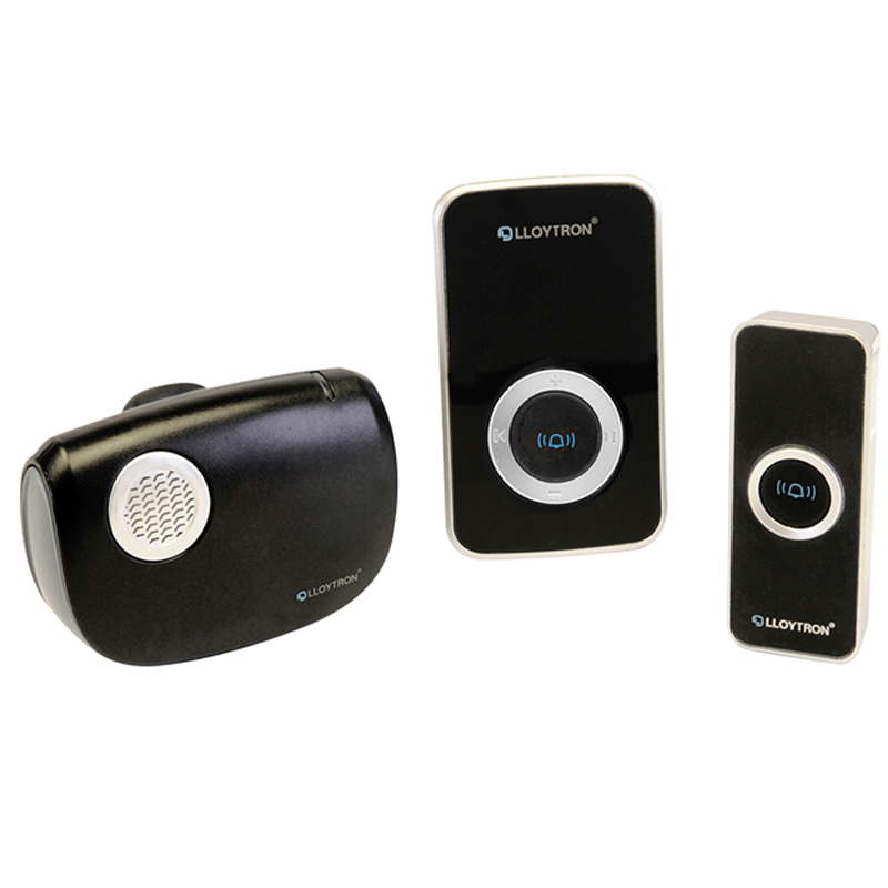 Compare retail prices of Lloytron B7506BK 32-Melody Plug-In Wireless Door Chime with MiPs to get the best deal online