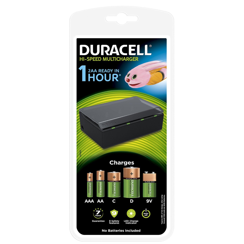 Compare retail prices of Duracell High-Speed Multi Charger to get the best deal online