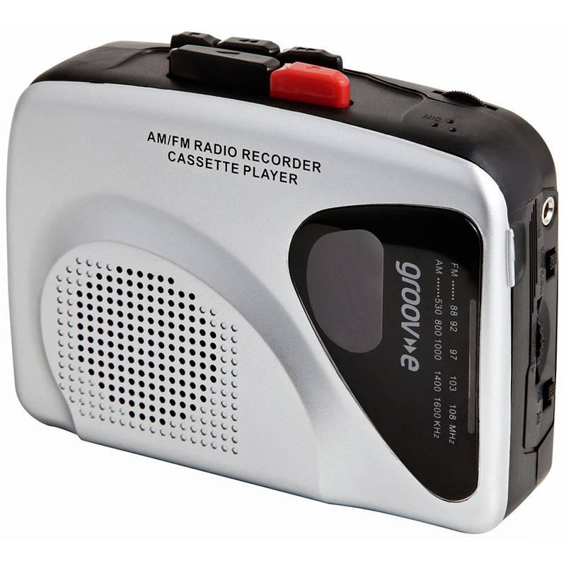 Compare cheap offers & prices of Groov-e GVPS525 Retro Personal Cassette Player and Recorder with Earphones manufactured by Groov-e
