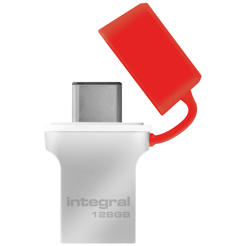 Compare retail prices of Integral 128GB Fusion USB-C 3.1 Flash Drive - 90MB/s to get the best deal online