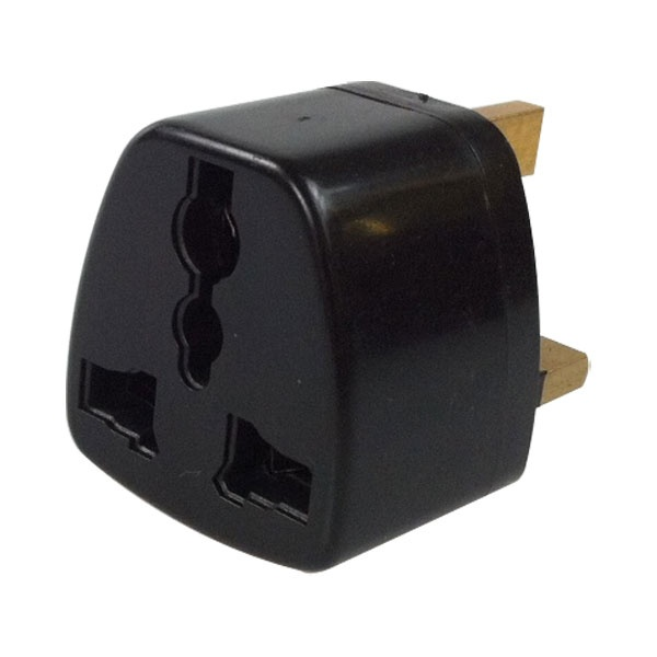 EU/US/Japan zu UK (dreipoligen Stecker) Adapter