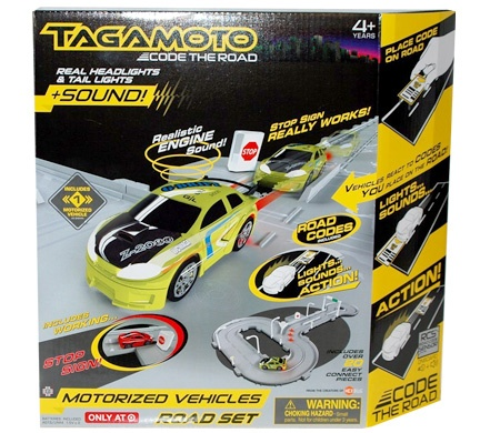Compare prices for Tagamoto Code The Road - Road Set with Stop Sign