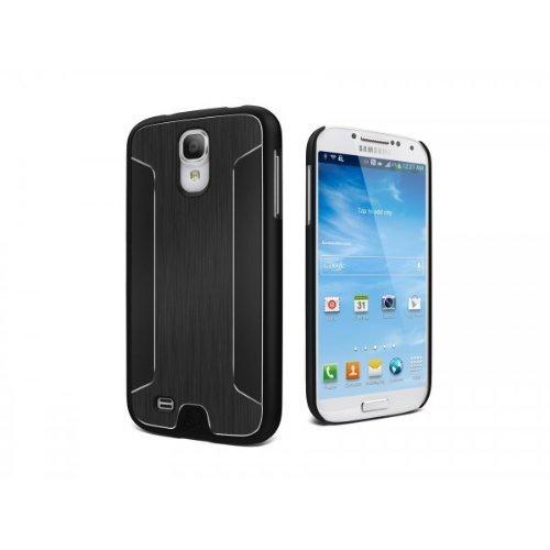 Cygnett UrbanShield Samsung Galaxy S4 Brushed Aluminium Case - Black