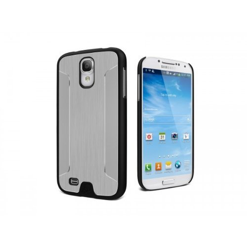 Cygnett UrbanShield Samsung Galaxy S4 Brushed Aluminium Case - Silver