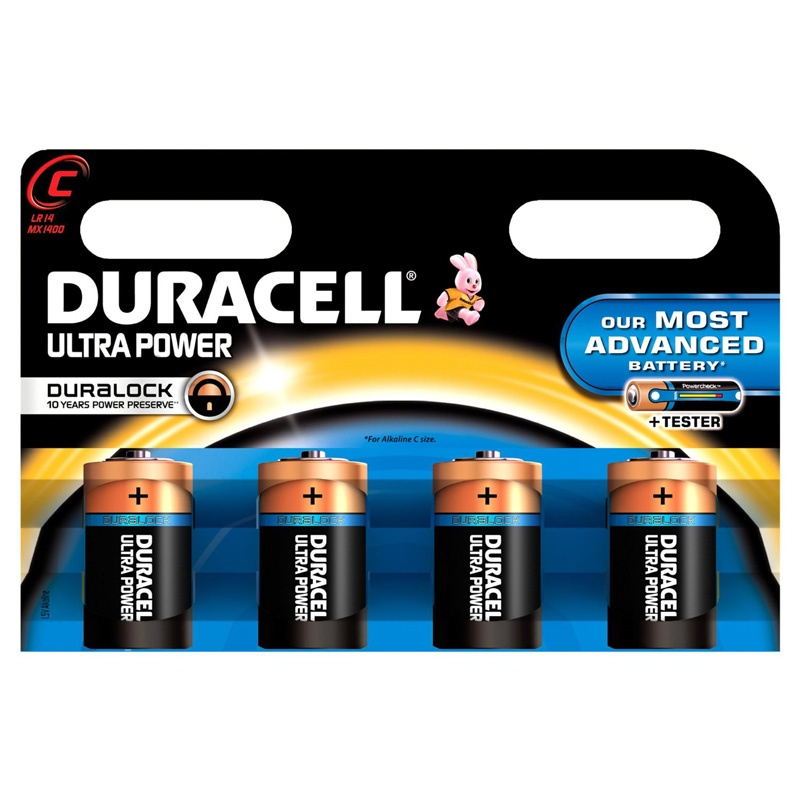 Compare retail prices of Duracell Ultra Power C Batteries - 4 Pack to get the best deal online