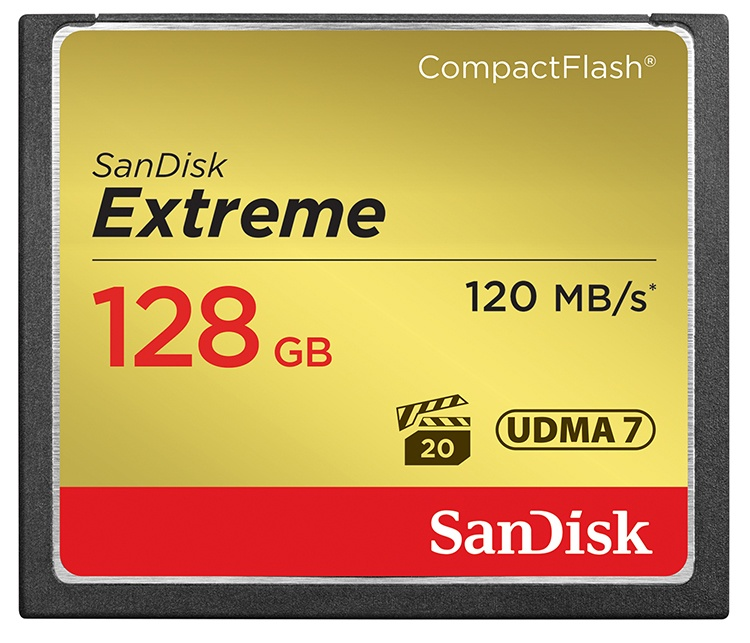 Click to view product details and reviews for Sandisk 128gb Extreme 800x Compact Flash Card 120mb S.