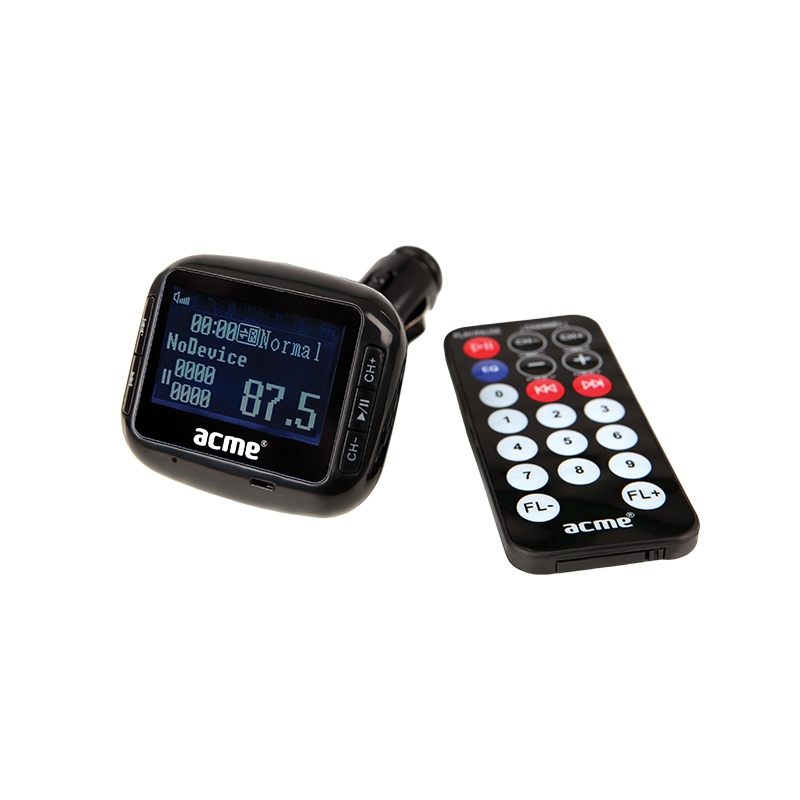 Acme Large Display Wireless Car FM Transmitter