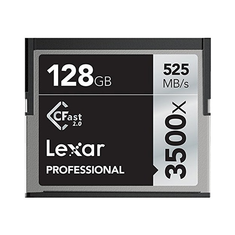 Compare prices for Lexar 128GB 3500X Professional CFast 2.0 Card - 525MB/s