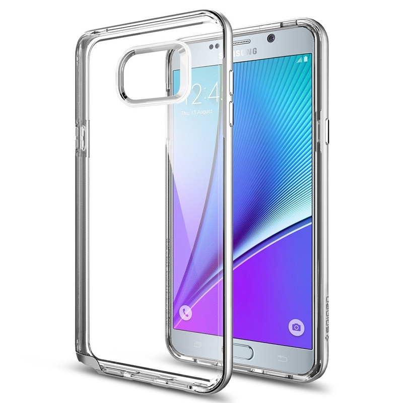 Compare prices for Spigen Samsung Galaxy Note 5 Case Neo Hybrid Crystal - Satin Silver