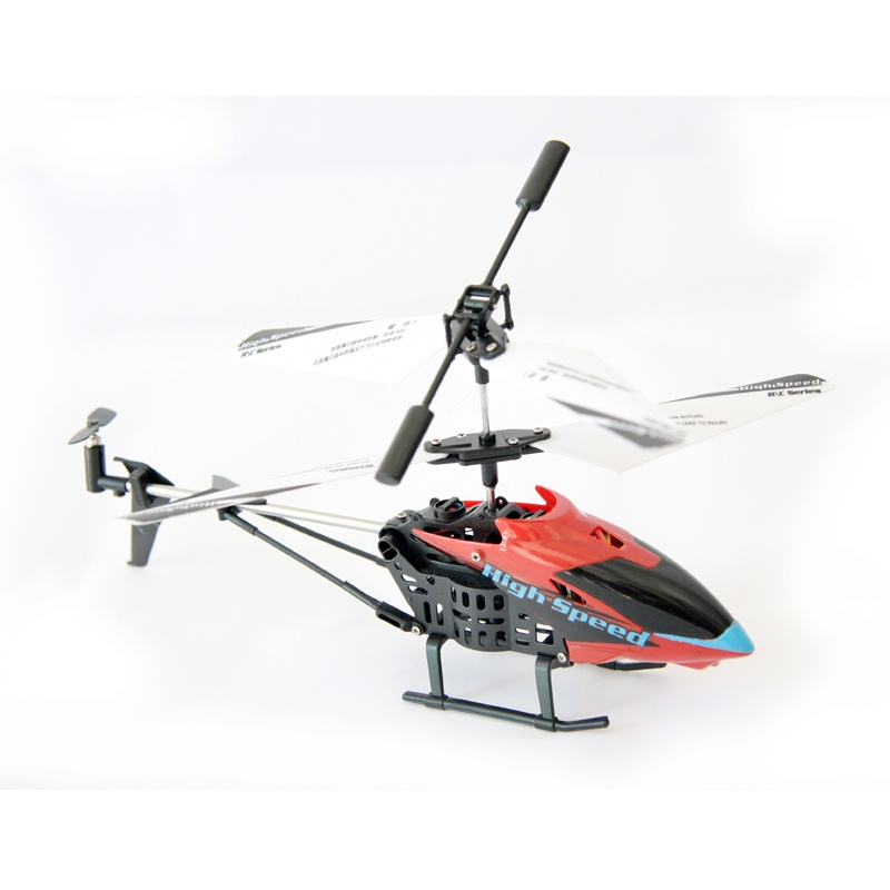 JC306 3.5 Channel I/R Remote Control Helicopter with Built in Gyroscope - Red