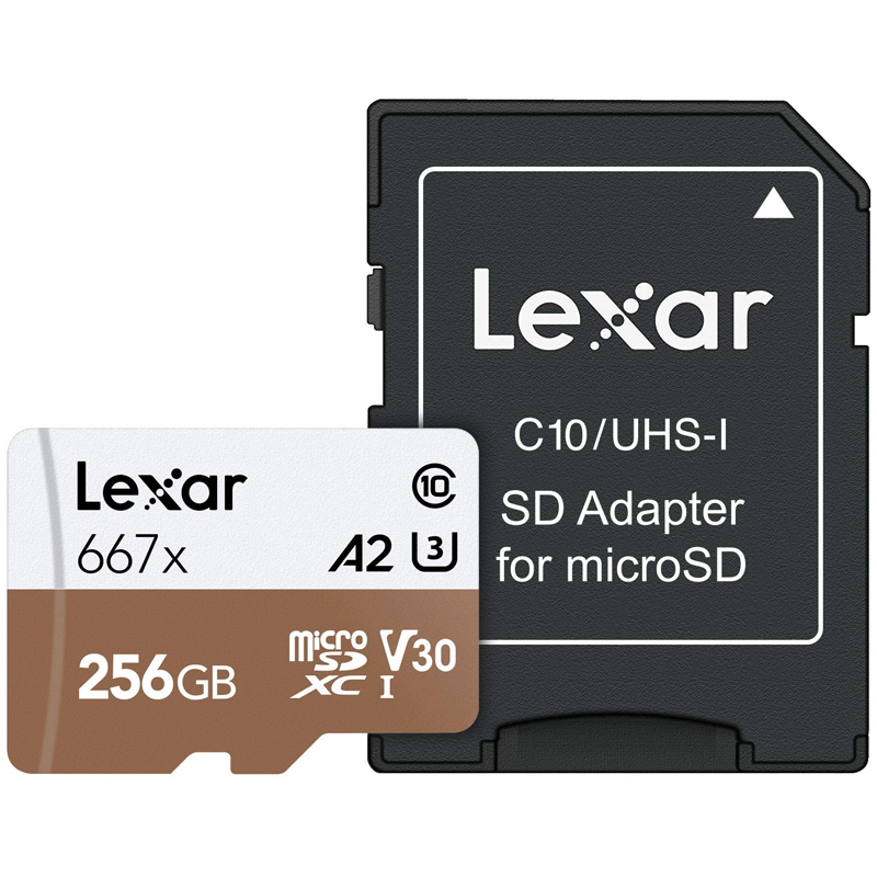 Click to view product details and reviews for Lexar 256gb Professional 667x Micro Sd Card Sdxc A2 Uhs I U3 Adapter 100mb S.