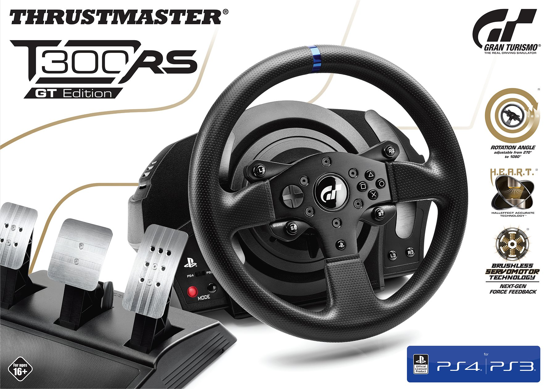 Thrustmaster T300 RS GT Edition Steering Wheel
