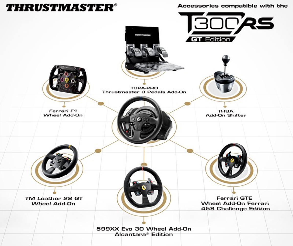 Thrustmaster T300 RS GT Edition Steering Wheel3