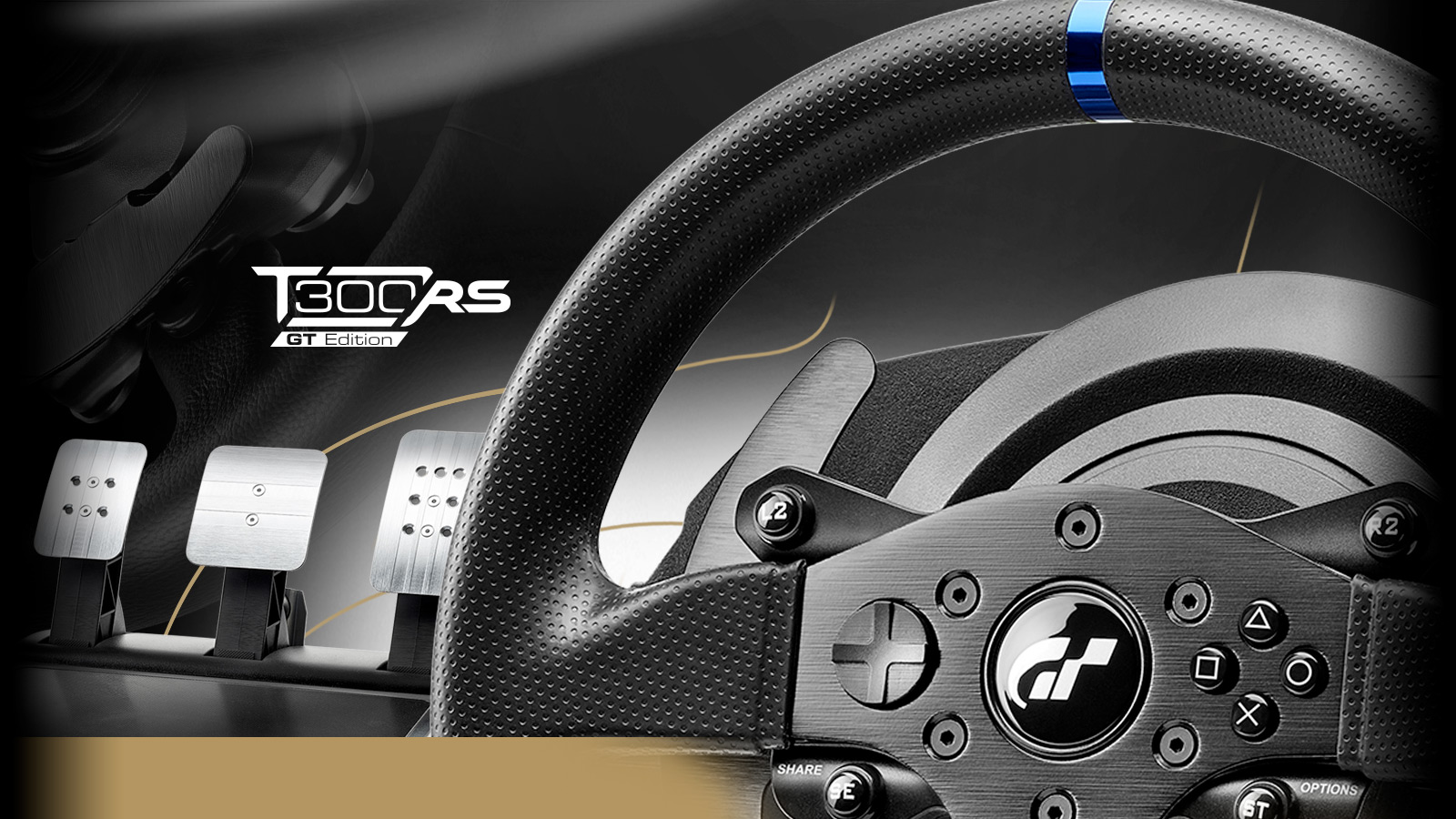 Thrustmaster T300 RS GT Edition Steering Wheel2